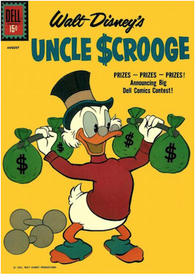 Uncle Scrooge #34. Click for values.