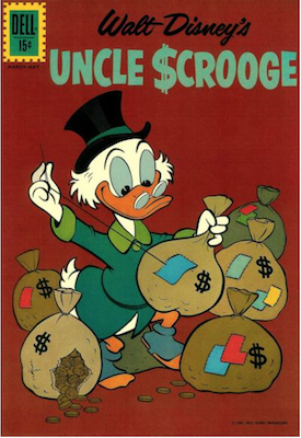 Uncle Scrooge #37. Click for values.