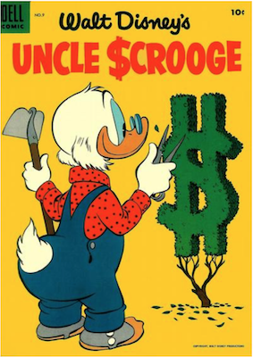 Uncle Scrooge #9. Click for values.