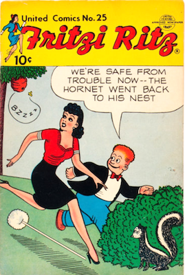 United Comics #25 (1952): Early Peanuts appearance. Click for values