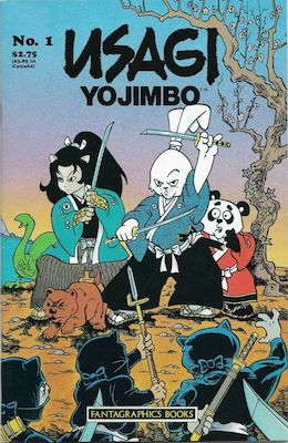 Most valuable comic books of the Copper age: Usagi Yojimbo Summer Special (1986). Click for values