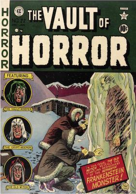 Vault of Horror #22. Click for values.