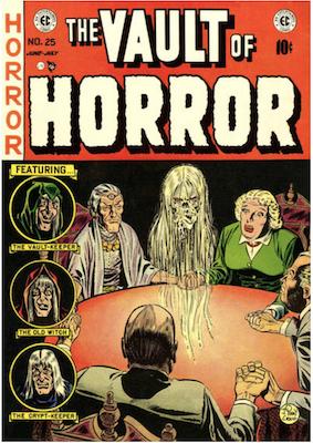 Vault of Horror #25. Click for values.