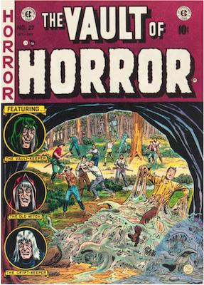 Vault of Horror #27. Click for values.