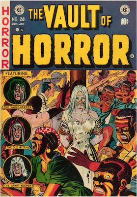 Vault of Horror #28. Click for values.