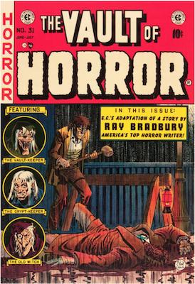 Vault of Horror #31. Click for values.