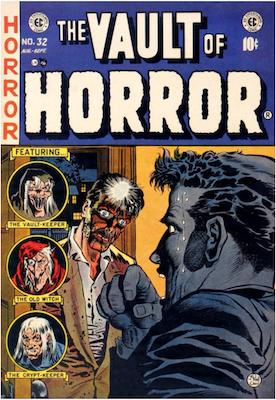 Vault of Horror #32. Click for values.