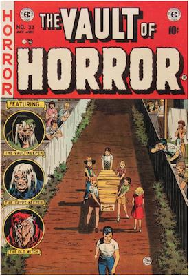 Vault of Horror #33. Click for values.