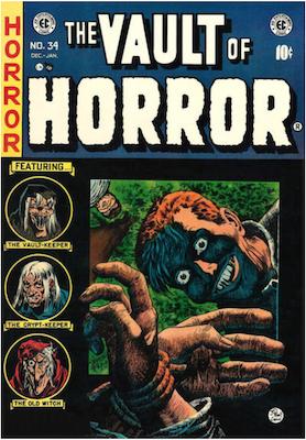 Vault of Horror #34. Click for values.