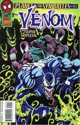 Venom Super Special (1995). Carnage appearance. Click for values
