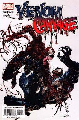 Venom vs Carnage #1 (2004). Click for values
