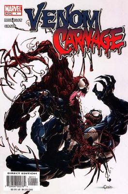 Venom vs Carnage #1 (2004). Click for values