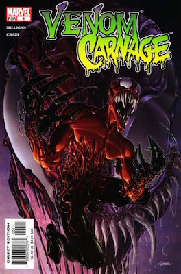 Venom vs Carnage #4. Click for values
