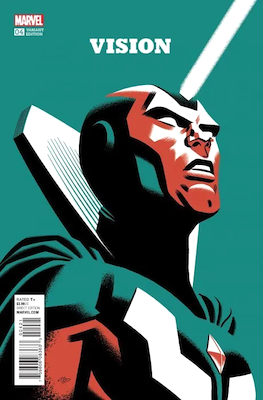 Vision #4 (2016): Cho Variant Edition. Click for values