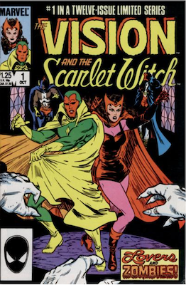 Vision and the Scarlet Witch #1: First in the Maxi-Series of 12 issues. Click for values.