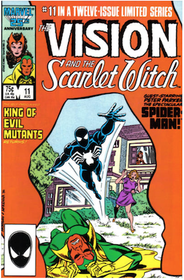 Vision and the Scarlet Witch #11. Click for values.