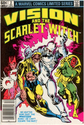 Vision and the Scarlet Witch Limited Series #2 (1982). Click for values.