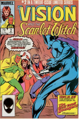 Vision and the Scarlet Witch #2. Click for values.