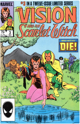 Vision and the Scarlet Witch #3. Click for values.