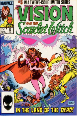 Vision and the Scarlet Witch #5. Click for values.