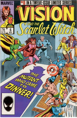 Vision and the Scarlet Witch #6. Click for values.