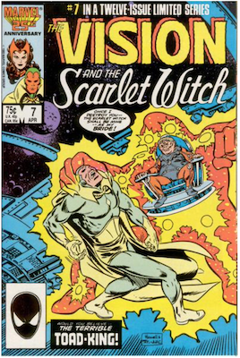 Vision and the Scarlet Witch #7. Click for values.