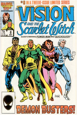 Vision and the Scarlet Witch #8. Click for values.
