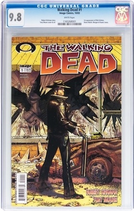 How long will AMG's Walking Dead franchise continue? A CGC 9.8 is currently a depreciating asset. Meanwhile, Turtlemania shows no signs of slowing down.