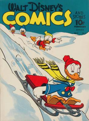Walt Disney's Comics and Stories #17. Click for values.