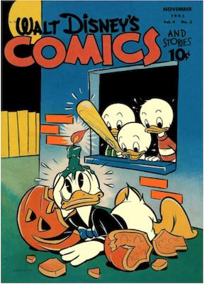Walt Disney's Comics and Stories #38. Click for values.