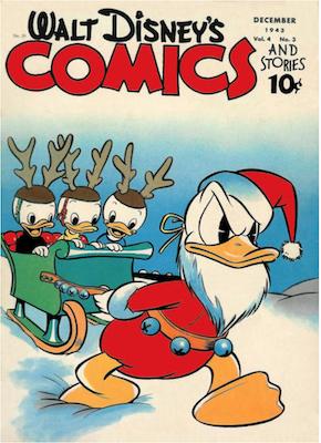 Walt Disney's Comics and Stories #39. Click for values.