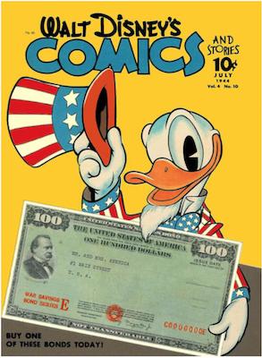 Walt Disney's Comics and Stories #46. Click for values.