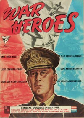 War Heroes #1 (1942). Dell Comics. Click for values