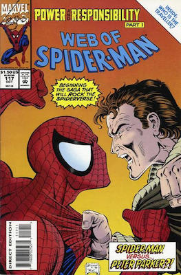 Web of Spider-Man #117: Collector's Edition, Carnage Marvel Comic. Click for values