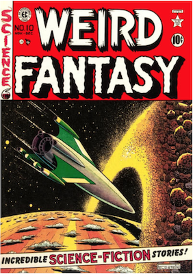 Weird Fantasy #10. Click for current values.