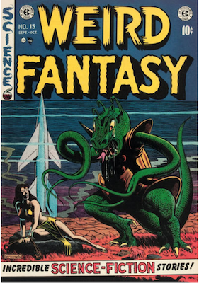 Weird Fantasy #15. Click for current values.