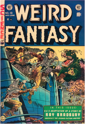 Weird Fantasy #19. Click for current values.