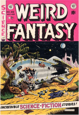 Weird Fantasy #20. Click for current values.