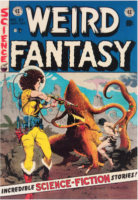 Weird Fantasy #21. Click for current values.