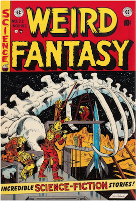 Weird Fantasy #22. Click for current values.