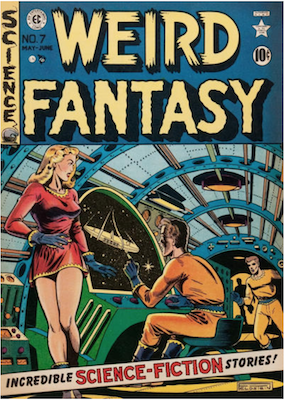 Weird Fantasy #7. Click for current values.