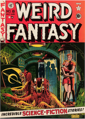 Weird Fantasy #8. Click for current values.