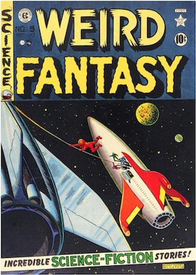 Weird Fantasy #9. Click for current values.