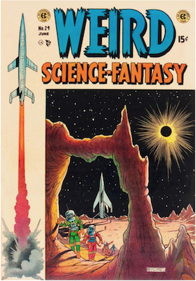 Weird Science Fantasy #24. Click for current values.