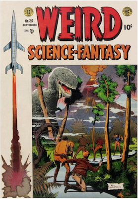 Weird Science Fantasy #25. Click for current values.