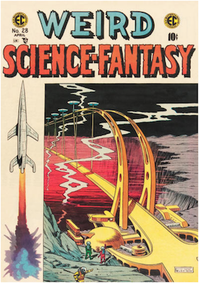 Weird Science Fantasy #28. Click for current values.