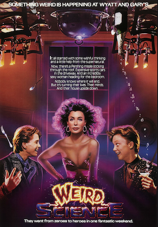 There was a 1985 Weird Science movie, starring Kelly le Brock, loosely based on this comic series.