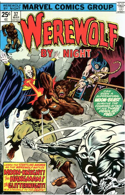 Werewolf by Night #37. Click for values.