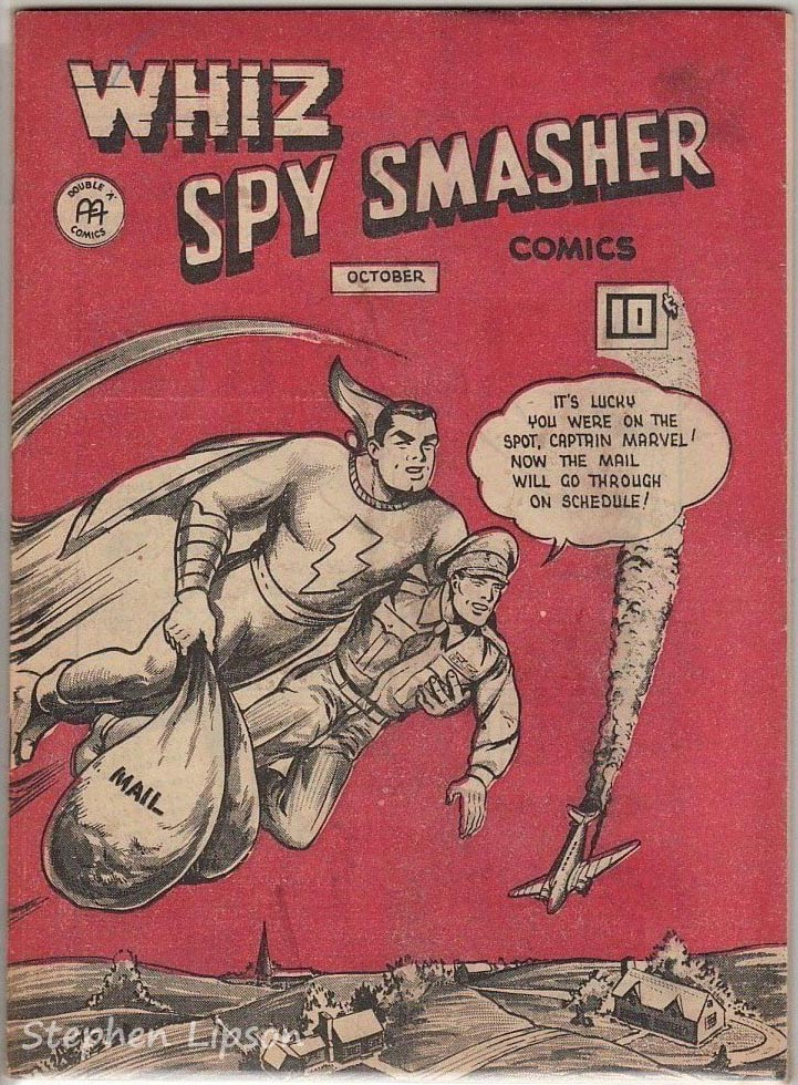 Canadian Whites: Whiz Spy Smasher comics v4 #9