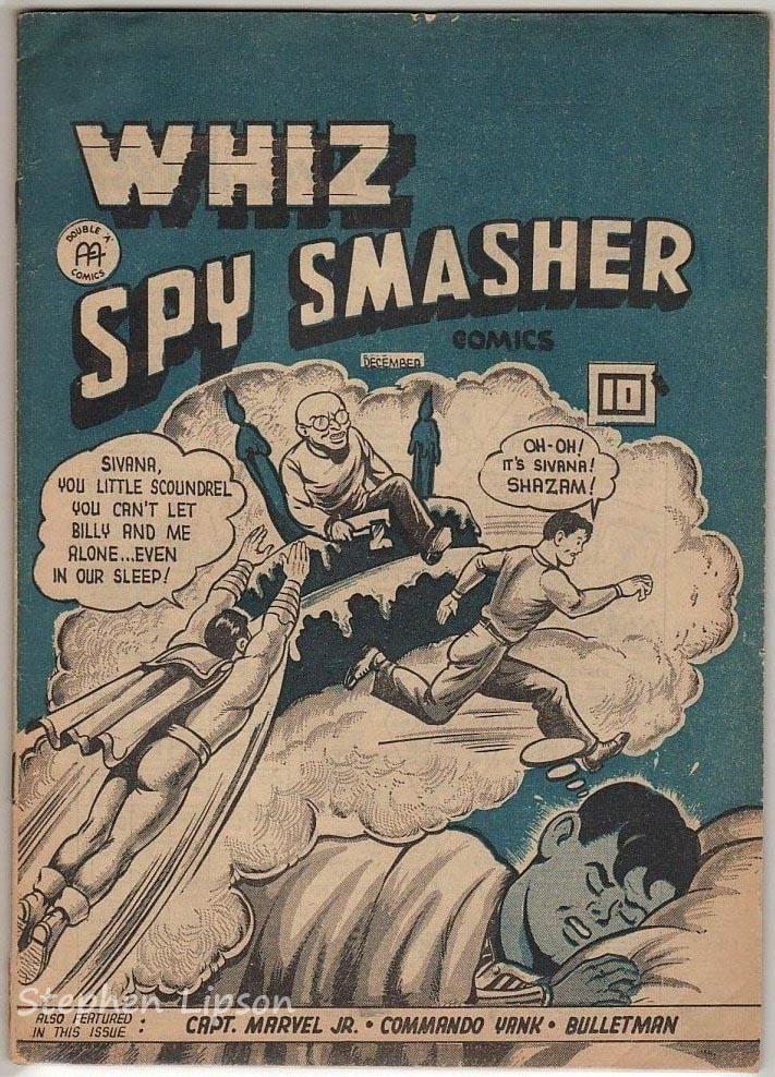 Whiz Spy Smasher comics v4 #12